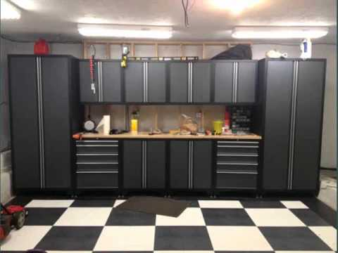 Garage Inside Pics Collection  Garage Cabinets Lowes