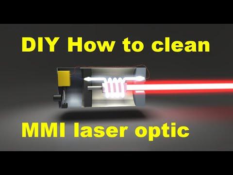 How to clean laser optic on Audi A6 C6 DVD navigation system /чистене на оптиката на навигацията