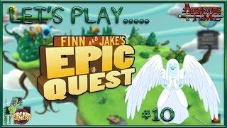 adventure time finn jake s epic quest part 10 fake guardian angel adventuretime