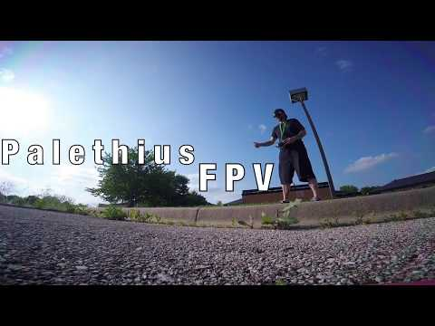 Фото Practicing some FPV Freestyle stuff - Ripping around a parking lot - Slammed Alien, Ethix S3