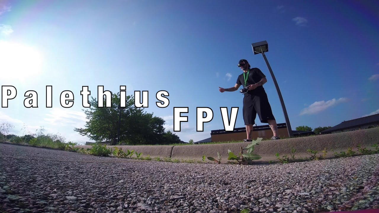 Practicing some FPV Freestyle stuff - Ripping around a parking lot - Slammed Alien, Ethix S3 картинки