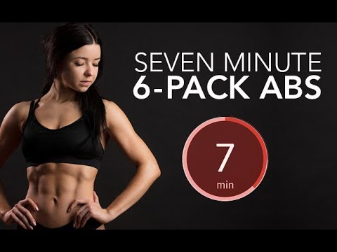 7 Minute SIX PACK ABS (Real Time No Equipment!)