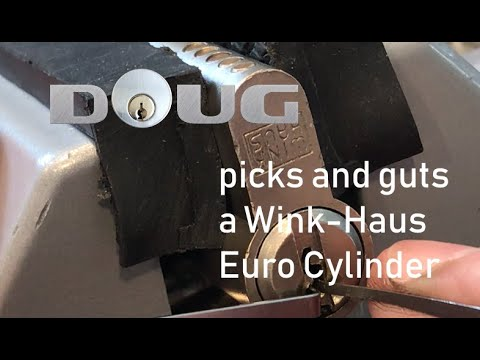 Wink Haus Euro (half) Cylinder Pick And Gut For #stocklocksunday [24]