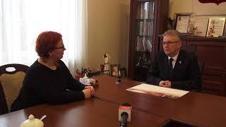 Rozmowa ze Starostą Ostrowskim Zbigniewem Kamińskim