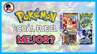 Pokemon: Mis Juegos FAVORITOS de Pokemon (Tierlist)