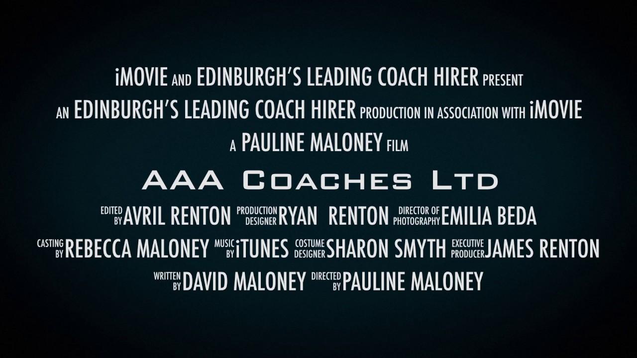 AAA Coaches Ltd film trailer tvusb
