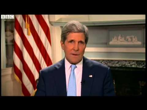 """BBC News - John Kerry tells fugitive Edward Snowden to  """"man up """""""