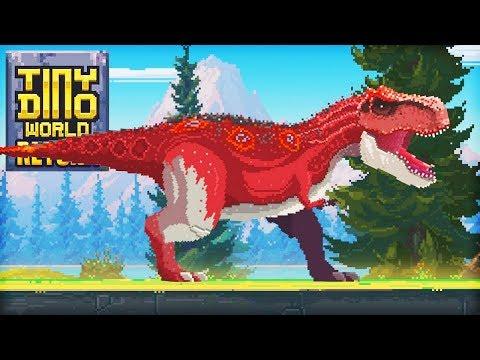 RETURN OF PIXEL DINOSAURS - Tiny Dino World: Return [#1] - 동영상