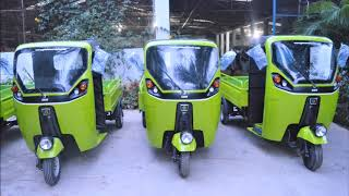 GMW Electric Autos (E-Rickshaws) by Govt. of Telangana in Medak District