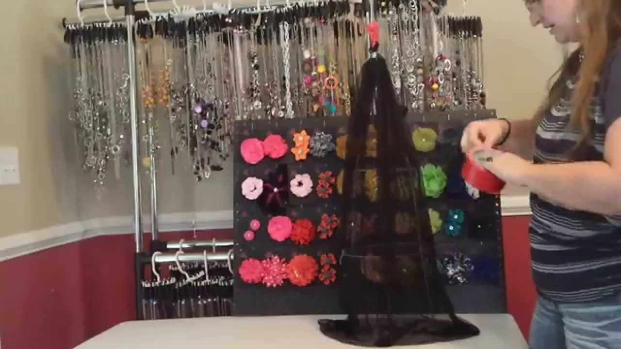 Paparazzi Easy And Cheap Hair Clip Display Youtube