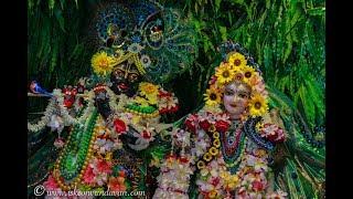ISKCON Global Hariyali Teej Special Deity Darshan