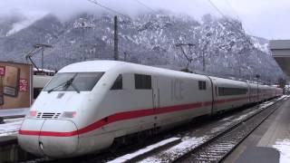 Ein Samstagnachmittag im Bahnhof Garmisch-Partenkirchen /Obb. · 02. Februar 2013