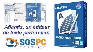 Atlantis, un éditeur de texte à découvrir d'urgence !