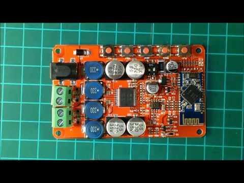 Amplificador Bluetooth 25+25 Watts RMS. Convierte tu equipo de audio!
