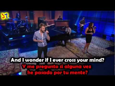 Lady Antebellum - Need You Now (english - spanish) lyrics / Subtitulado en ESPAÑOL & INGLES