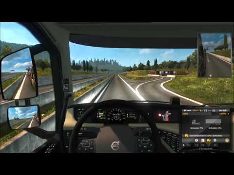 Let's Show - Euro Truck Simulator 2 - TSM-Map  - #001 - Dresden nach Murcia - Etappe 1