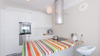 видео Кухонная мебель островного расположения