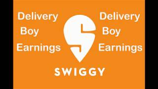 Swiggy : How much does a Swiggy Delivery boy earns ? Swiggy Delivery Boy Salary, Swiggy Delivery boy