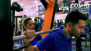 Unisex gym motivation at La Cosmo Fitness