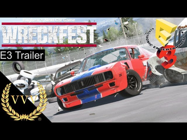 Wreckfest E3 2017 Release Announcement Trailer