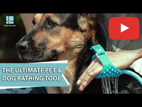 The Ultimate Pet & Dog Bathing Tool