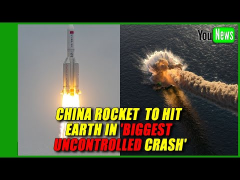 China rocket debris to hit Earth in 'biggest uncontrolled crash'