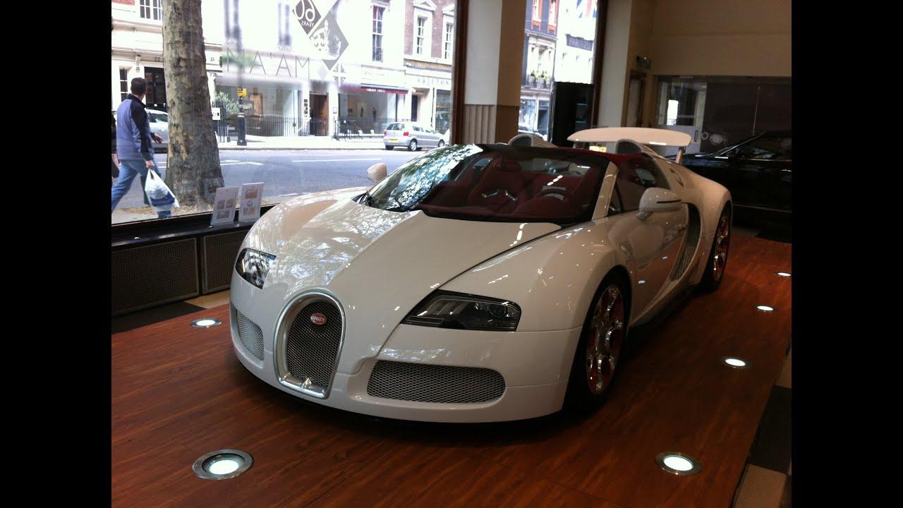 bugatti veyron grand sport wei long walkaround hd youtube. Black Bedroom Furniture Sets. Home Design Ideas