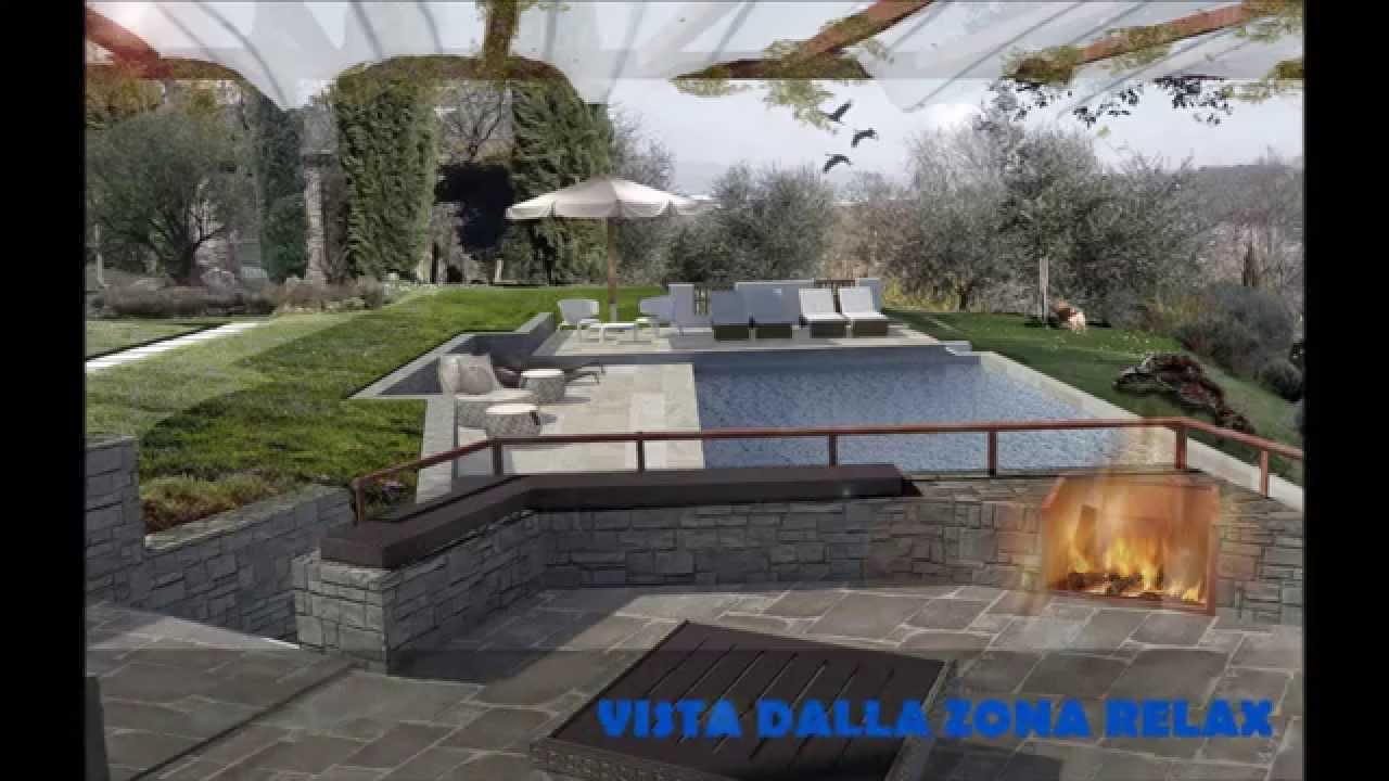 Realizzare piscina a sfioro in cemento armato youtube - Realizzare una piscina ...