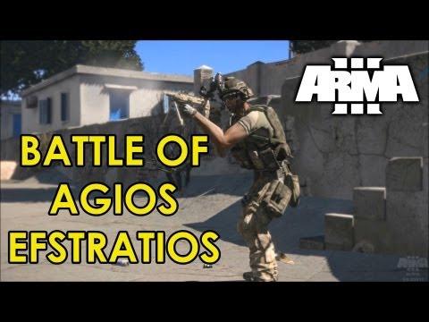 Battle of Agios Efstratios: Arma III Gameplay