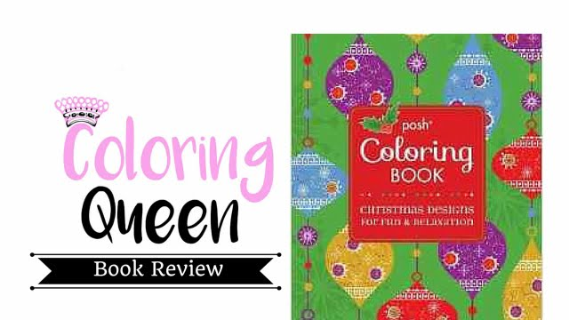 Posh Christmas Coloring Book