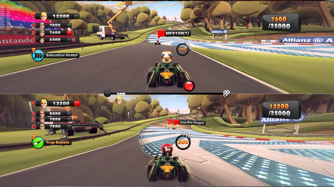 no love lost me vs girlfriend two player f1 race stars 2 youtube. Black Bedroom Furniture Sets. Home Design Ideas