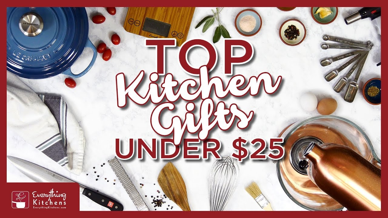 Top Kitchen Gifts Under $25 2018 Christmas Gift Guide - YouTube