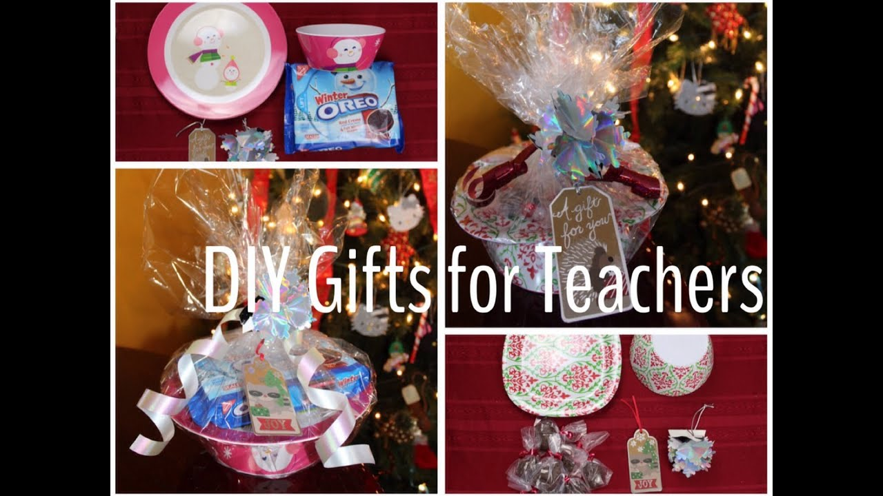 Handmade teachers gifts for christmas