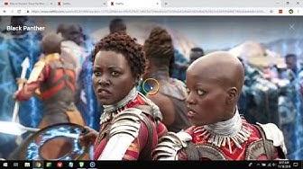 Watch Black Panther on Netflix!