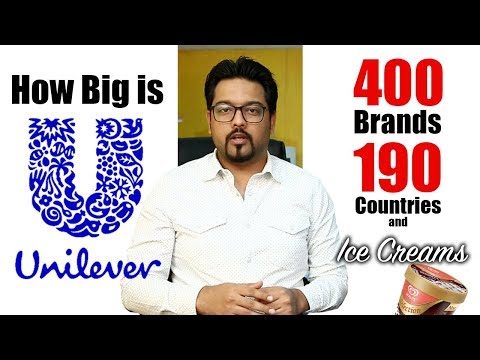 How Big is UNILEVER  They Own 400 Brands  UrduHindi  My Channel   Goher Ali Rizvi