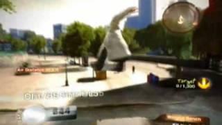 Skate 2 Walkthrough - Winged Bench