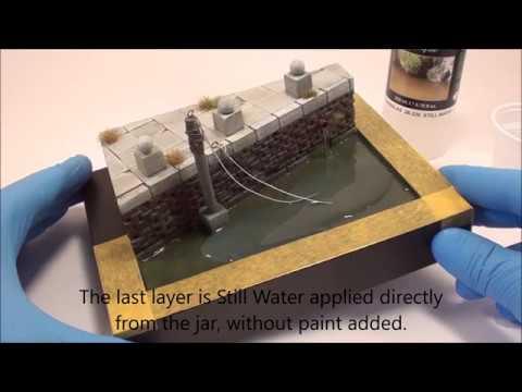 Vallejo Water Textures
