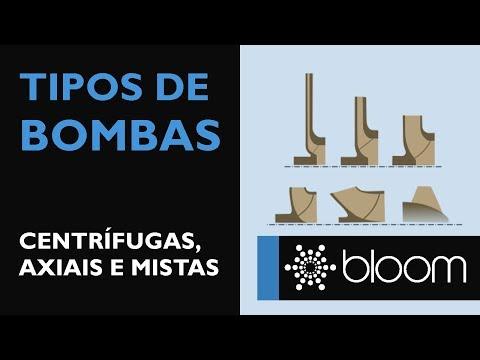 Tipos de bombas: centrífuga, axial e de fluxo misto