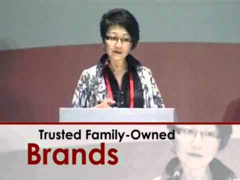 Singapore Brand Conference 2011 | Session 3 - 21st Century Family Businesses