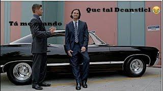 Supernatural: Cena engraçada - Sam zoa Dean com