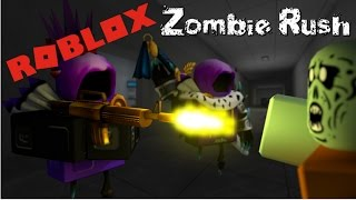 Roblox Zombie Rush Gameplay. :D