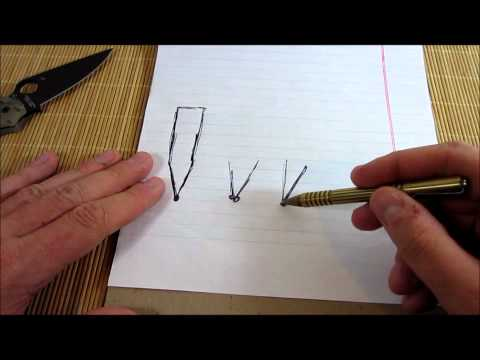 Super Basic Sharpening Tips