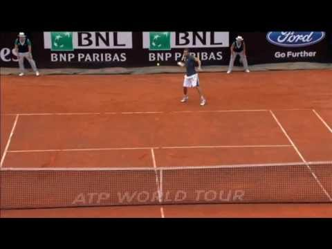 Gulbis Clocks Hot Shot Forehand Past Nadal
