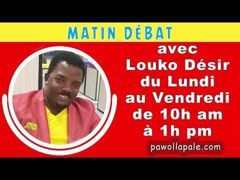 MATIN DÉBAT - Dosye PetroCaribe : Youri Latortue ap reyaji nan mikwo  Louko Désir
