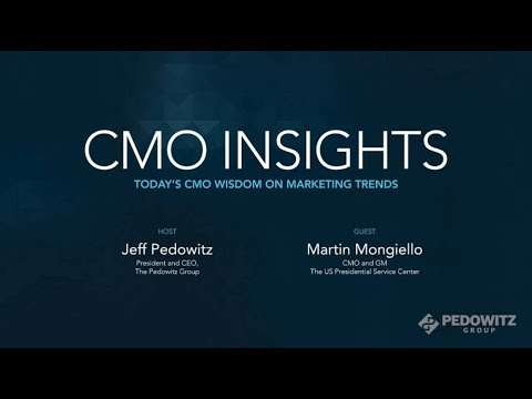 CMO Insights: Martin Mongiello, CMO and GM, The US Presidential Services Center