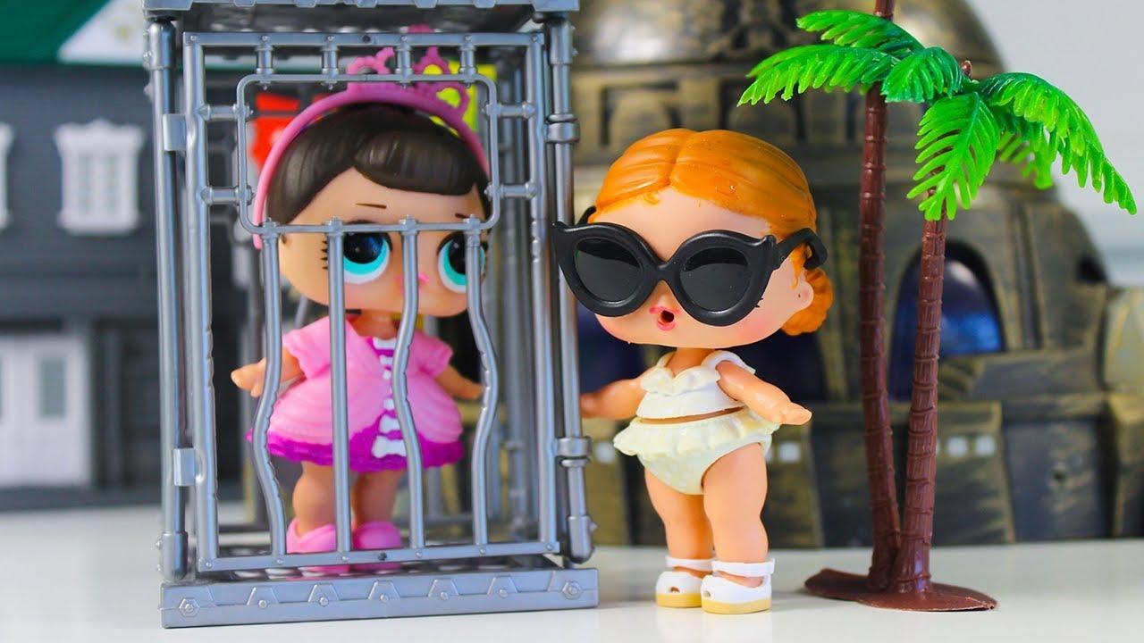 Куклы #ЛОЛ ЗОЛОТОЙ ШАР! Распаковка Конфетти ПОП Мультики ...