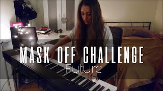 Future - Mask Off Challenge Piano Cover