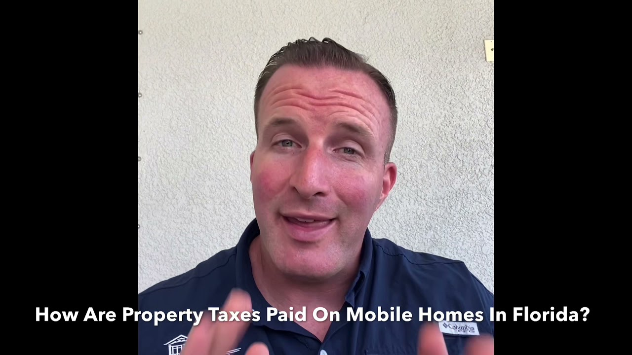 How Are Mobile Home Property Taxes Determined?