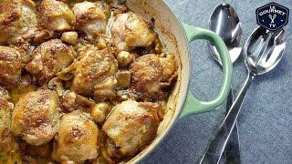 Honey Mustard Mushroom Stout Chicken Recipe - Le Gourmet Tv 4k