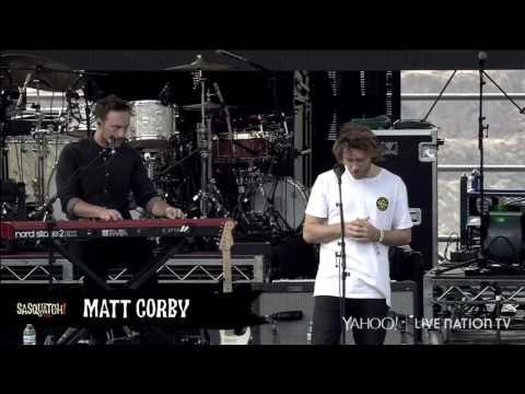 Matt Corby  Sasquatch! Music Festival 2016